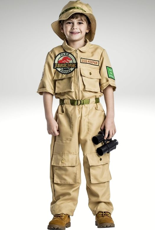 Turn a zookeeper costume into a Dino Zookeeper costume with just a few patches - simple and effective! The best and most creative Halloween costumes for dinosaur fans