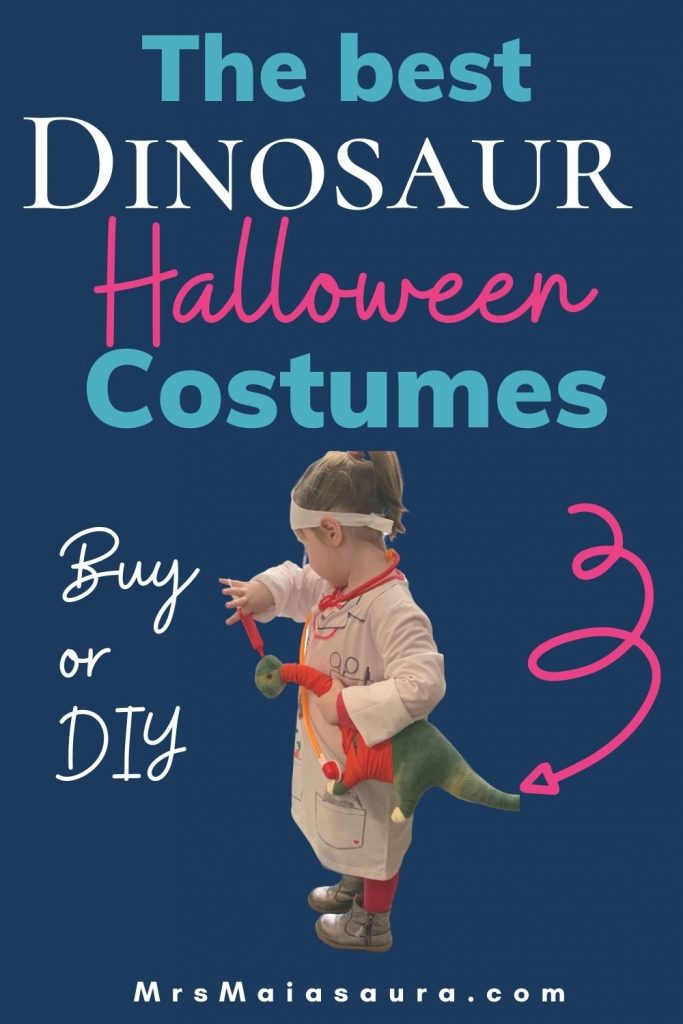 The best Halloween costumes for dinosaur fans. Go beyond the simple dinosaur Halloween costume and check out our list to find a creative dinosaur-themed costume you are sure to love. Buy or DIY dinosaur costumes. for all ages, including dogs. Jurassic World, Dino Dana and abstract dino costumes.
