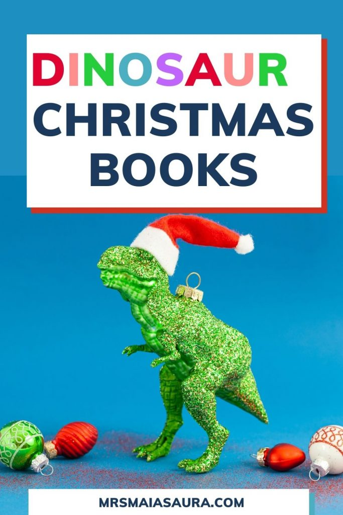 The best dinosaur books for Christmas and all other celebrations this Festive season. #dinochristmas
