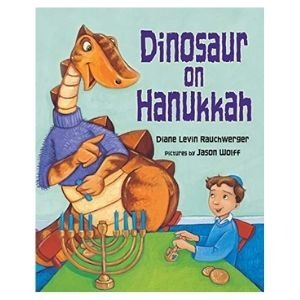 The best dinosaur books for the festive season: Dinosaur on Hanukkah