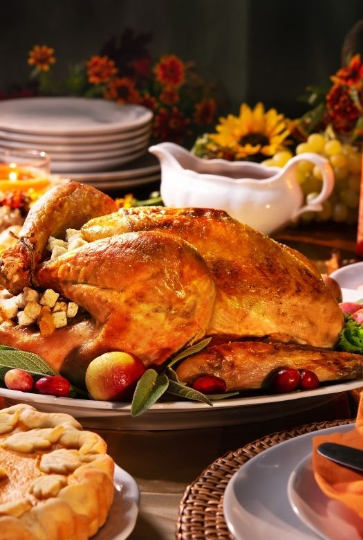 The real dinosaur at our Thanksgiving: the turkey on your table
