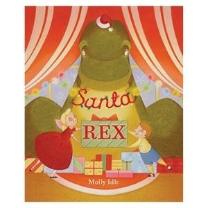The best dinosaur Christmas books: Santa Rex